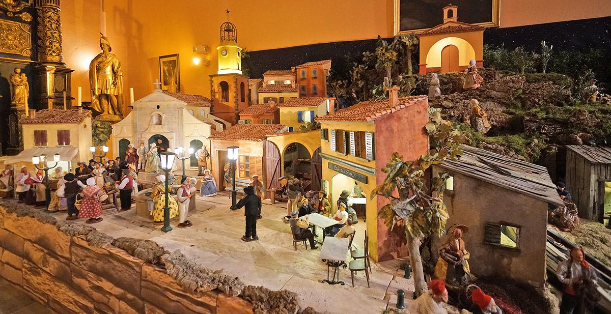 (Français) Noël à Saint-Tropez : la crèche provençale