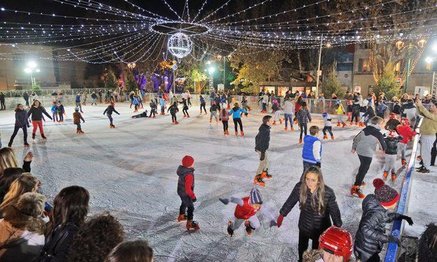 Noël à Saint-Tropez : patinoire à ciel ouvert