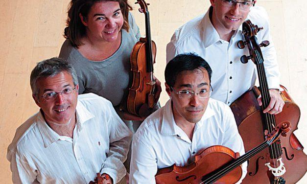 Le Quatuor Annesci en concert le 6 décembre