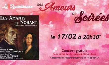 Saint-Tropez célèbre la Saint-Valentin avec «Des Amours de Soirées»