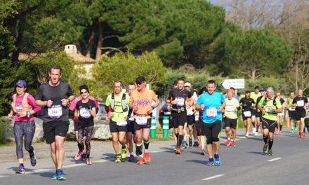 (Français) 1er marathon du golfe de Saint-Tropez : priorité aux coureurs, le temps d'une matinée
