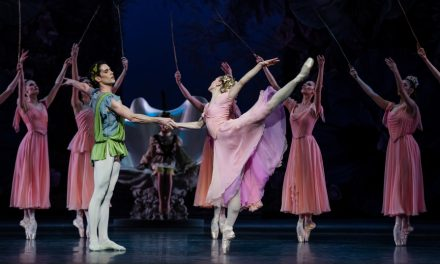 """Diffusion du ballet """"Le songe d'une nuit d'été"""" de George Balanchine"""
