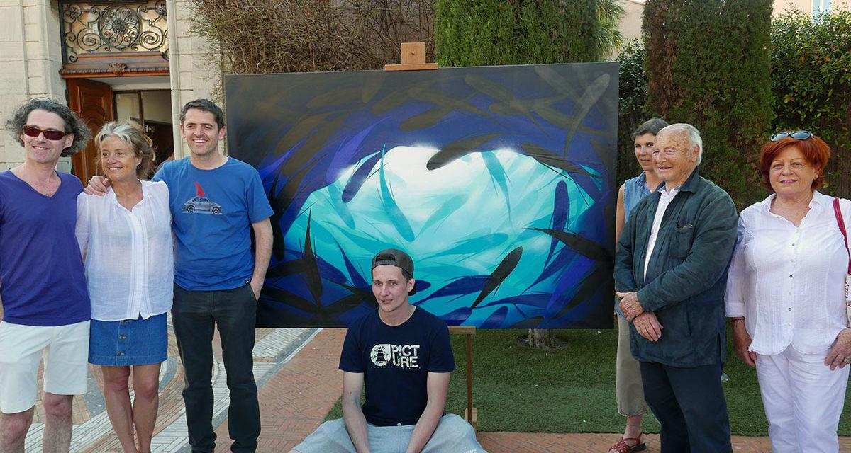 Le street-art revisite Signac