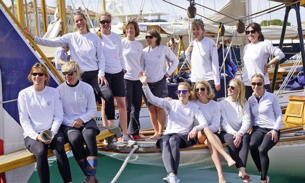 Régate : les Dames de Saint-Tropez 2018