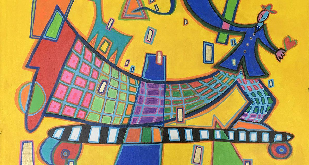 Les expositions du lavoir Vasserot : Happy Art Contemporain (peintures)