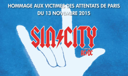 Concert caritatif « Sin City – cover AC/DC » au profit de Life for Paris