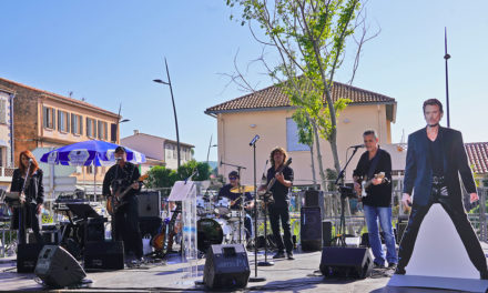 Johnny à Saint-Tropez : une inauguration « rock and roll »