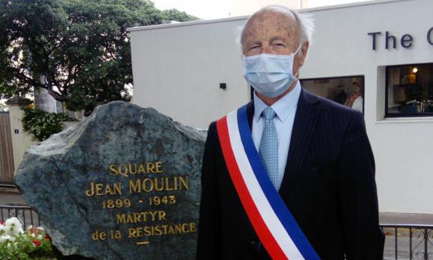 Un dépôt de gerbe à l'occasion de la journée nationale de la Résistance
