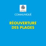 (Français) Communiqué pollution : réouverture des plages de la commune
