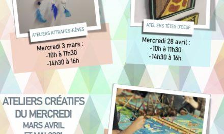 Atelier BMJ : création «d'attrapes-rêves»