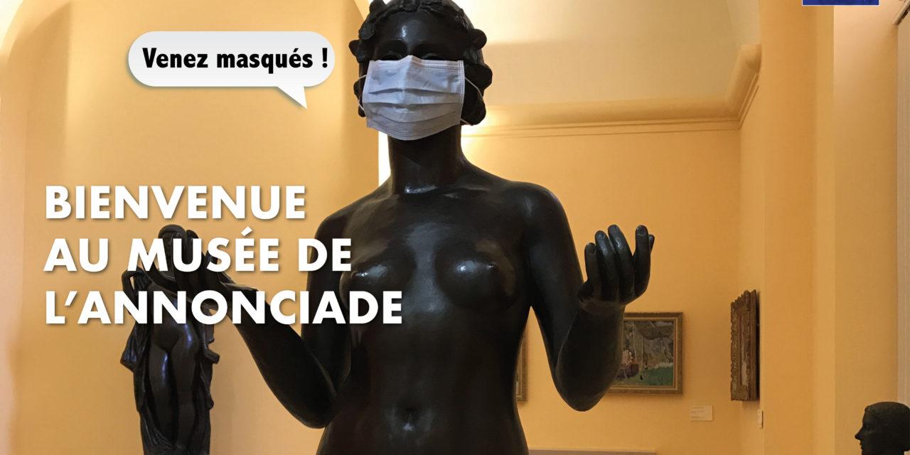 Le musée de l'Annonciade est ouvert !