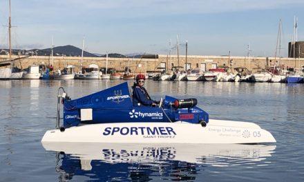 Sportmer met à l'eau un prototype de bateau à hydrogène