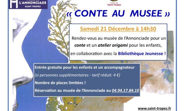 «Conte au Musée» à l'Annonciade