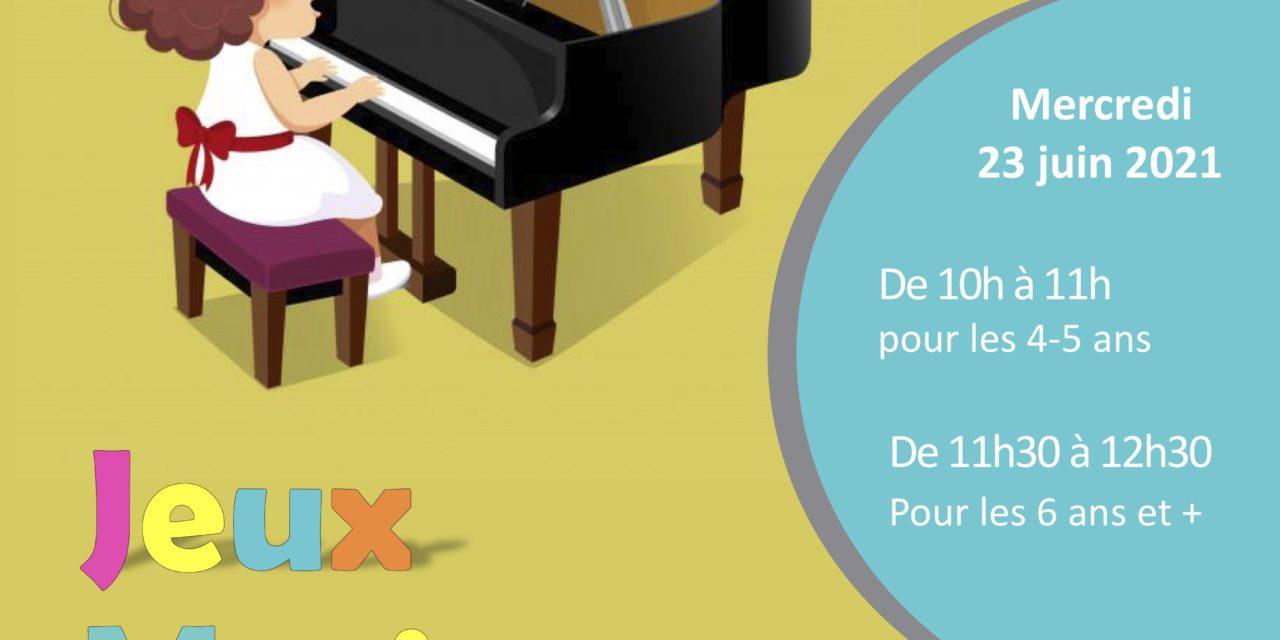 Atelier BMJ : Jeux musicaux