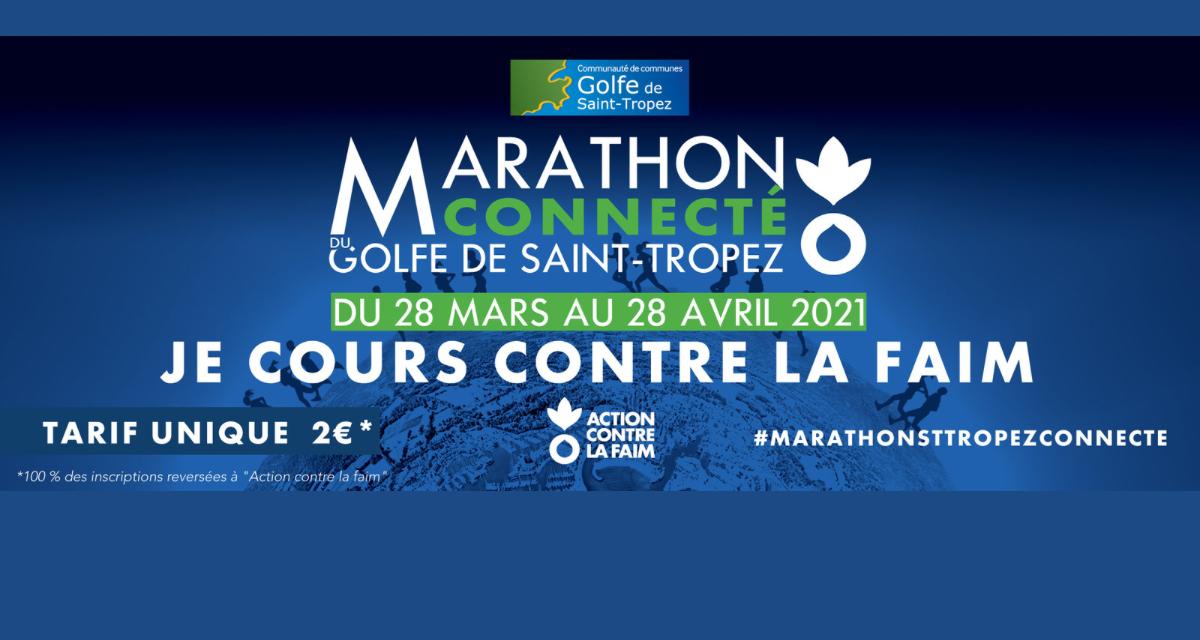 Marathon du Golfe de Saint-Tropez Connecté: un challenge au grand coeur !
