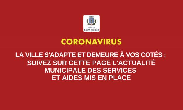 Coronavirus : fermeture des services et équipements municipaux