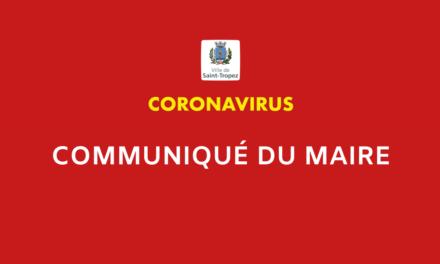 Communiqué du maire n° 2 : « Toute ma gratitude aux professionnels qui luttent contre la pandémie »