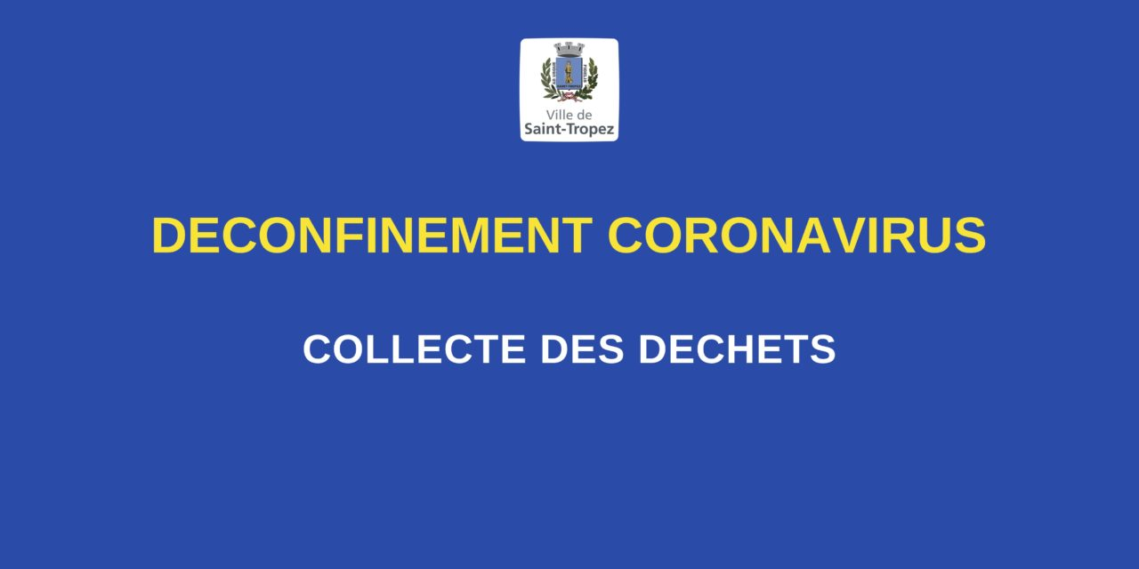 Encombrants : la collecte reprend à partir du 11 mai !