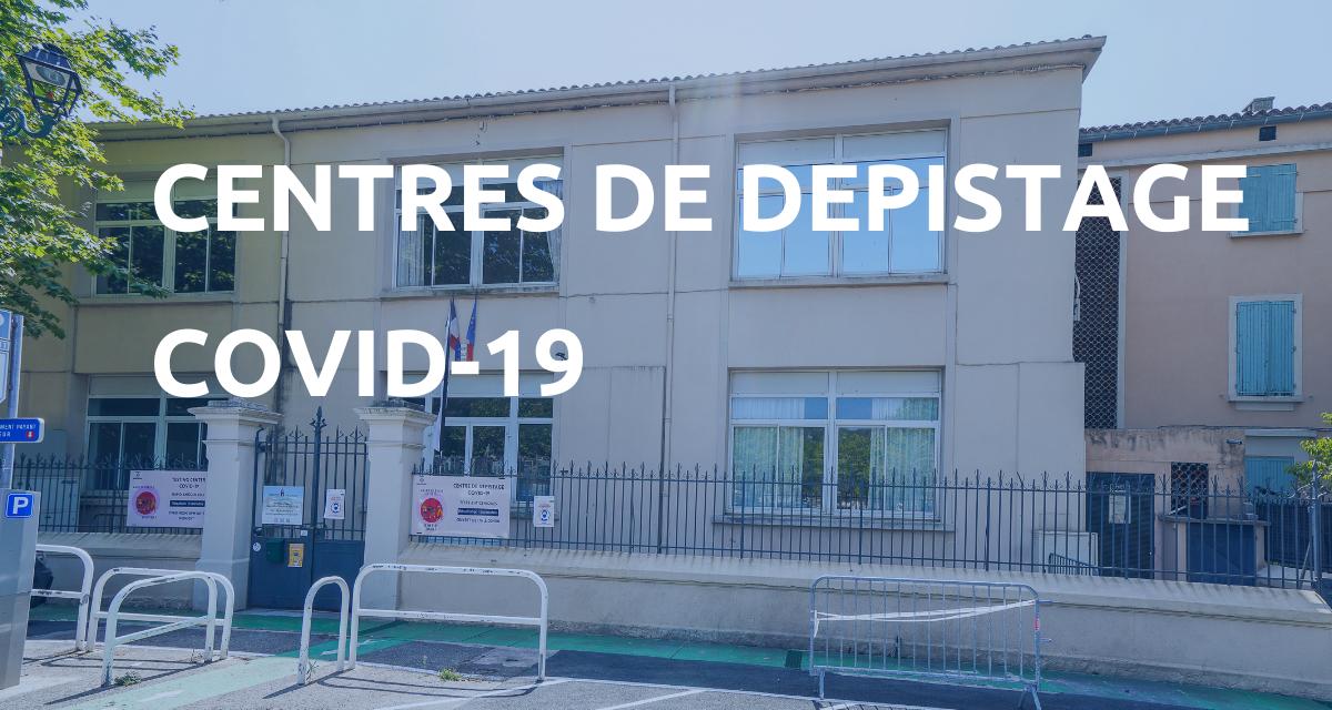 Centres de dépistage COVID-19