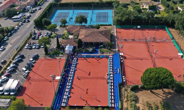 Tennis municipal : les huit courts rénovés