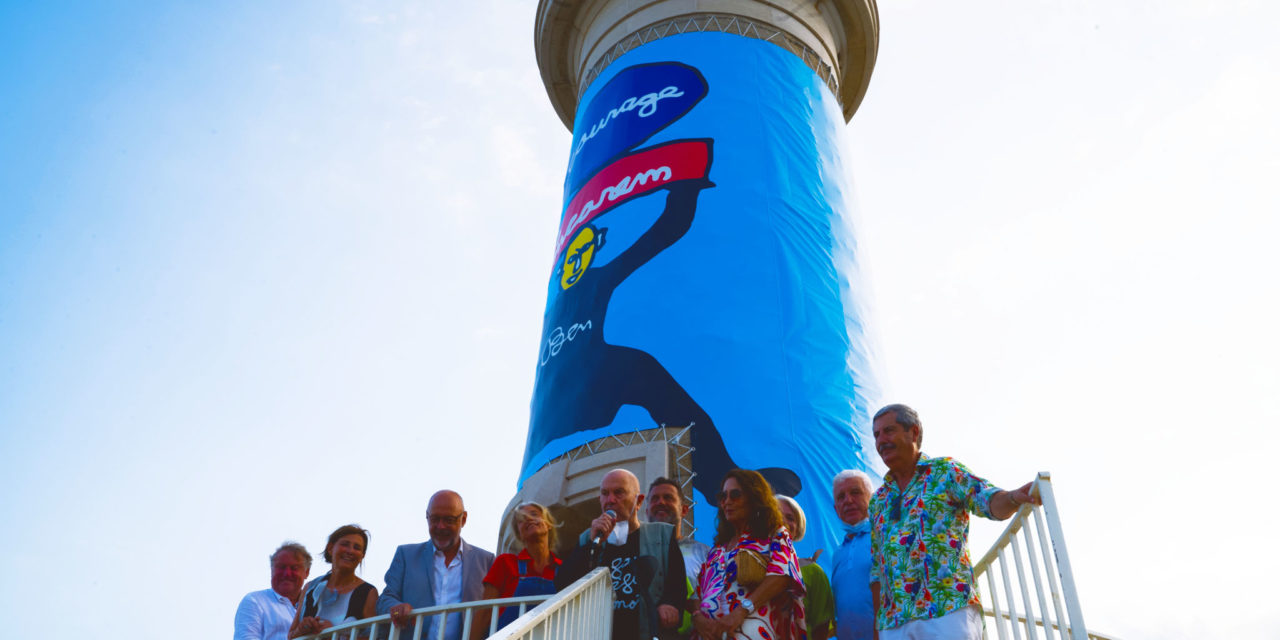 BEN EMBALLE LE PHARE ROUGE !