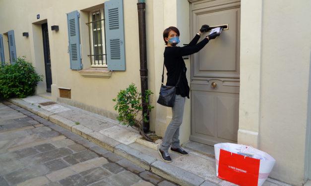 Distribution de masques à la population : un formulaire à remplir