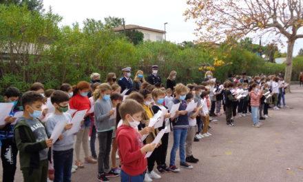 A l'école élémentaire, un hommage à Samuel Paty