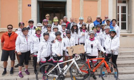 Challenge à vélo de l'association le Cœur Vanessa