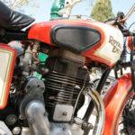(Français) Tour de France de moto anciennes en étape à Saint-Tropez