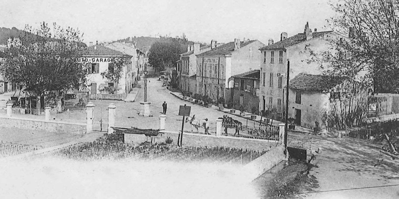 Au XVI siècle, l'entrée de Saint-Tropez