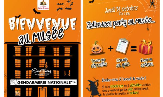 Halloween Party au musée de la Gendarmerie et du cinéma