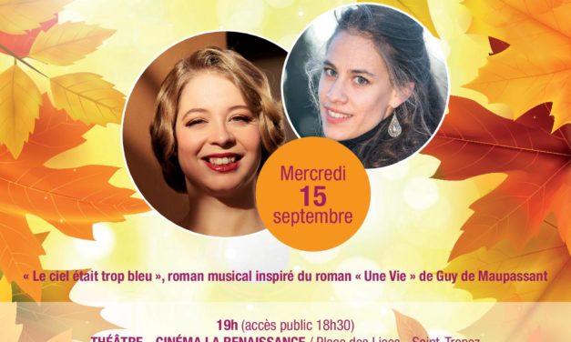 19e festival d'automne, avec Marie PERBOST et Joséphine AMBROSELLI BRAULT