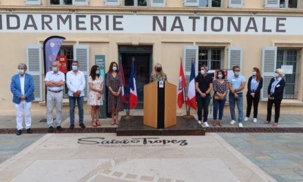 Inauguration exposition du musée de la gendarmerie et du cinéma « Enquête insolite, la gendarmerie d'hier à aujourd'hui ».