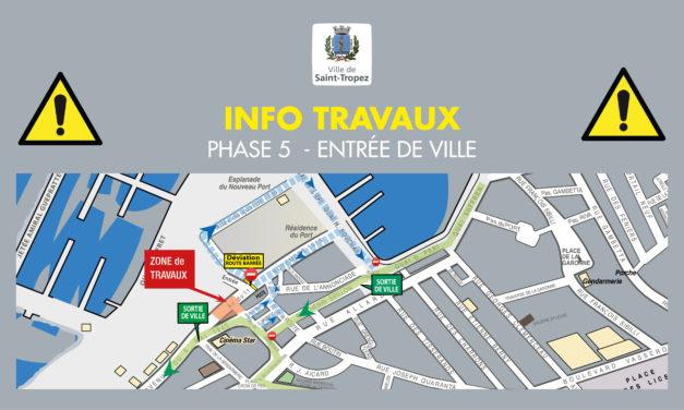 Travaux de requalification entrée de Ville : sortie de ville par la rue Seillon depuis le port à partir du lundi 4 mars