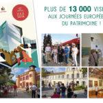 Journées européennes du patrimoine 2018 : nouveau record !