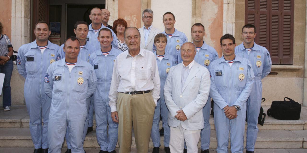 Saint-Tropez rend hommage à Jacques Chirac