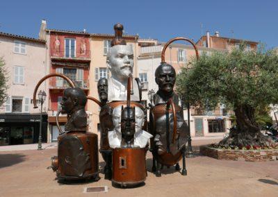 Distillerie idéologique – 1996, ARMAN / Place de la Garonne