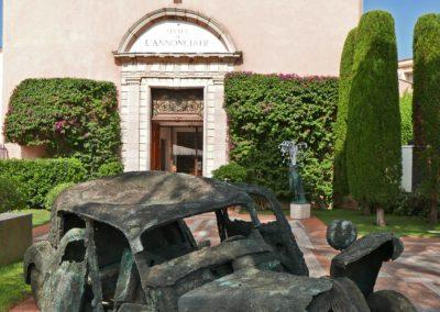 Traction « chariot » - 1991 ARMAN / Jardins du musée de l'Annonciade