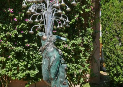 Cantando sotto la doccia- 2003 ARMAN / Jardins du musée de l'Annonciade
