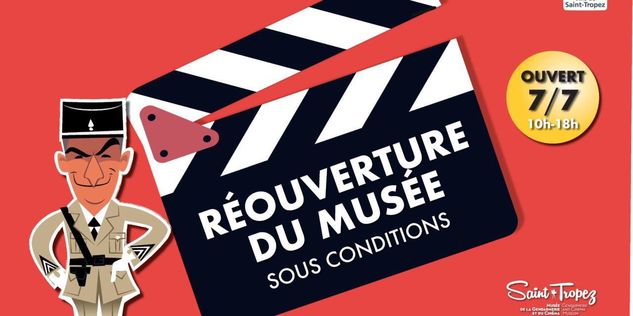 Réouverture du musée de la Gendarmerie et du Cinéma