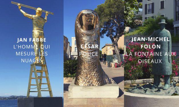 CÉSAR, FOLON ET FABRE : L'ART DANS LA RUE