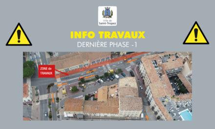 Travaux de requalification entrée de Ville : dernière phase
