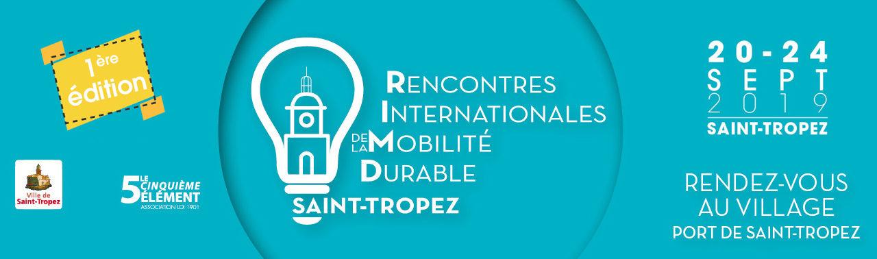 DU 20 AU 24 SEPTEMBRE, LES PREMIÈRES RENCONTRES INTERNATIONALES DE LA MOBILITÉ DURABLE