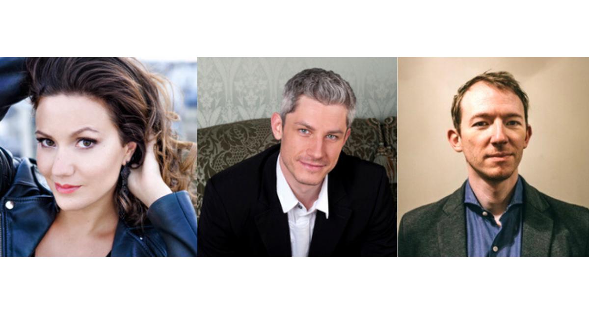 Nuits du château de la Moutte : Julie Fuchs, Edwin Crossley-Mercer et Alphonse Cemin