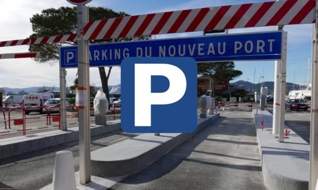 Parking du port : le 1er août, retour aux tarifs habituels