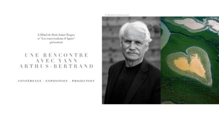 Une soirée avec Yann Arthus-Bertrand