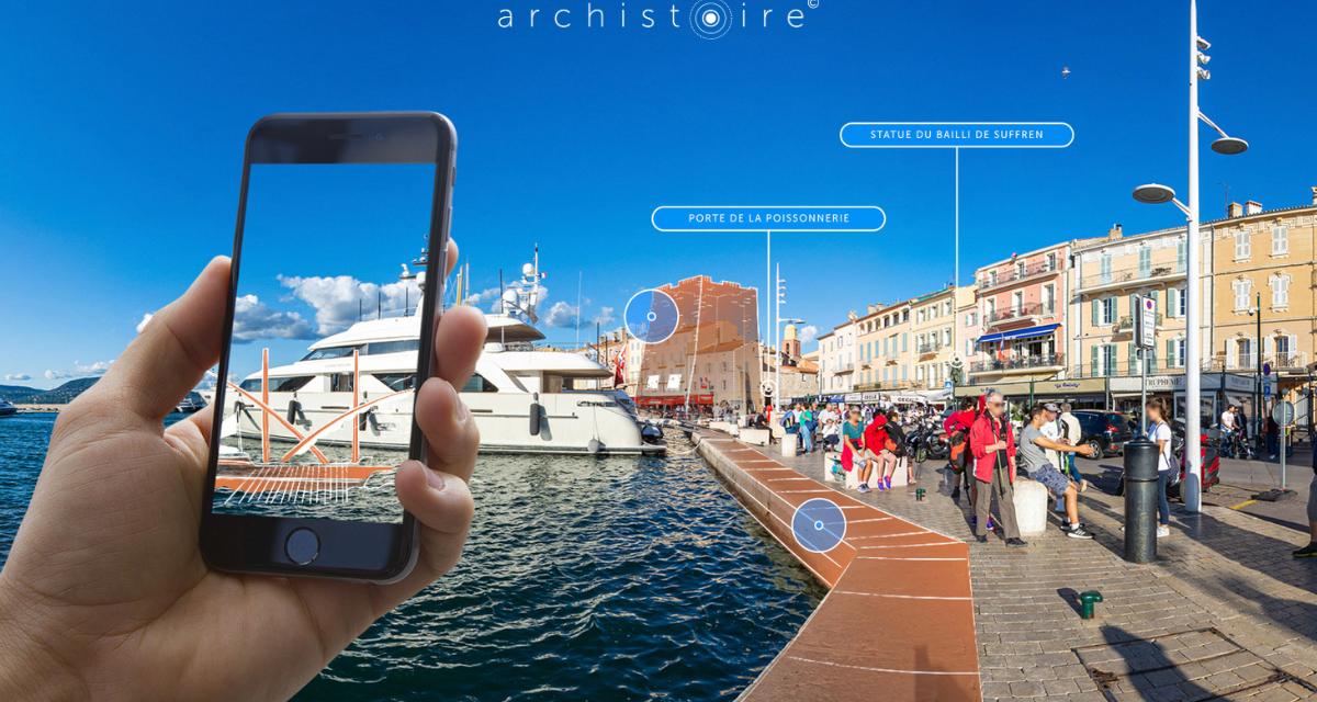 Saint-Tropez lance son application de visite culturelle en réalité augmentée