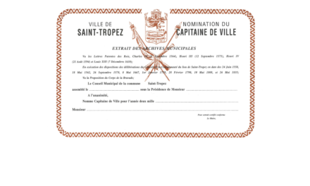 Dimanche 11 octobre, nomination du Capitaine de ville