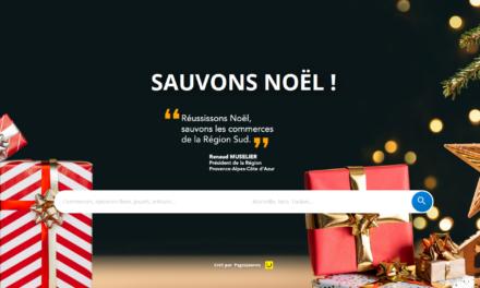 SAUVONS NOEL : LA PLATEFORME NUMERIQUE DE LA REGION GRATUITE POUR TOUS LES COMMERCANTS