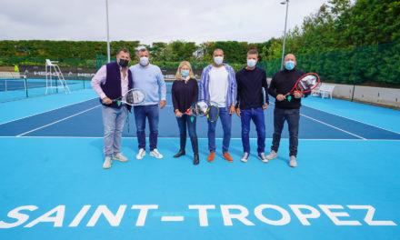 Saint-Tropez au cœur de la compétition internationale de tennis ATP 80 !